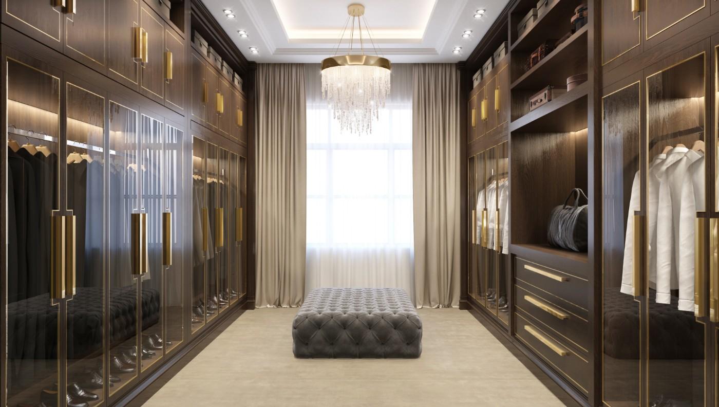 Luxury Walk In Wardrobes